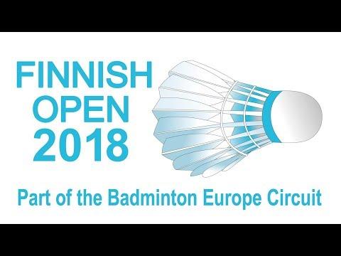 Kugo / Yokoyama vs Chang / Cheng (WD, QF) - Finnish Open 2018