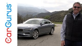 2017 Volvo S90 | CarGurus Test Drive Review