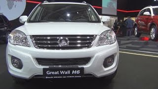 Great Wall H6 Premium 1.5 Turbo 143 hp 4x4 (2016) Exterior and Interior in 3D