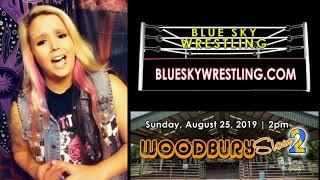 Blue Sky Wrestling: WoodburySLAM2 Brittany Garcia Responds to Miss Rachel