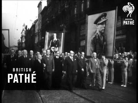 Demonstration Against Return Of King Leopold: Belgium (1950)