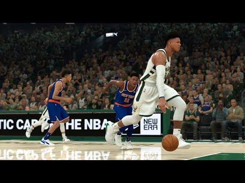 NBA Today 1/14 - Milwaukee Bucks Vs New York Knicks Full Game Highlights | NBA 2K