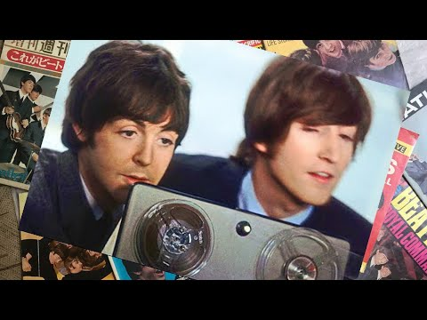 ♫ Paul McCartney and John Lennon on during recording TV special, 'The Music of Lennon and McCartney'