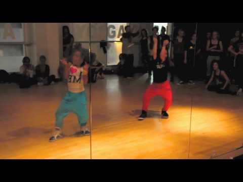 Charlize Glass & Sierra Neudeck   Chris Brown feat. Rihanna - Turn Up the Music   Choreography
