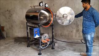 Horizontal Autoclave Cylindrical 150 Liters (500 mm x 750 mm)