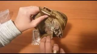Bolsa compacta MOLLE EDC 1000D Nylon
