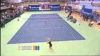 The best of Urszula Radwanska (vs Agnieszka Radwanska) PART 1