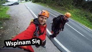Zakładam Uprząż Wspinaczkową - Moja Pierwsza Ferrata w Austriackich Alpach  (Vlog #176)