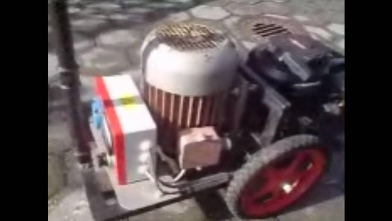 Eigenbau Stromerzeuger Homemade Powergenerator
