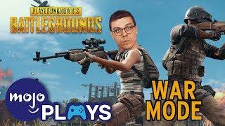 Dan's Playing War Mode In PUBG! Playerunknown's Battlegrounds!