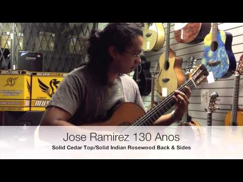 Jose Ramirez 130 Anos Demo  Alamo Music Center