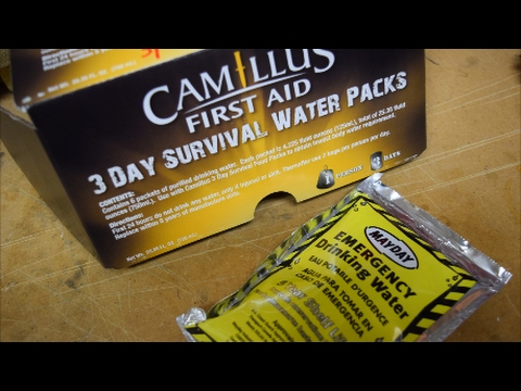 Camillus 3 Day Survival Water Packs