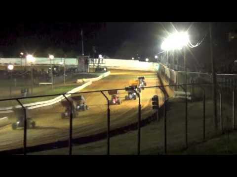 Kyle Larson Port Royal Speedway B-Main Event April 27, 2013