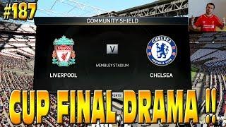 FIFA 15 LIVERPOOL CAREER MODE: CUP FINAL DRAMA!! SEASON 5 STARTS!! #187