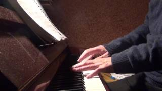 GOT TO GET YOU INTO MY LIFE. The Beatles. Piano Solo.
