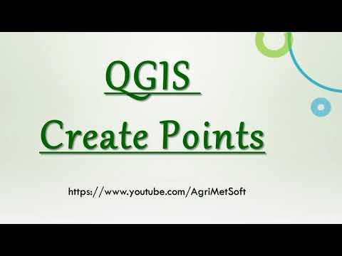 QGIS Create Points