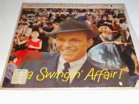 FRANK SINATRA A Swingin' Affair PLAK RECORD 7