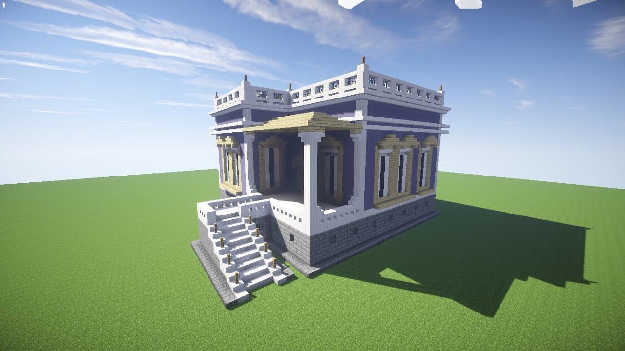 Minecraft Como Fazer Uma Casa Simples 10 Youtube