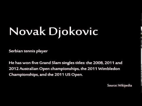 How to pronounce - Novak Djokovic