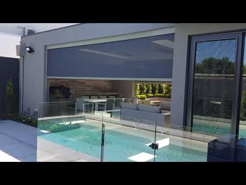 Zipscreen Outdoor Blinds Melbourne - By The Blinds Spot Co