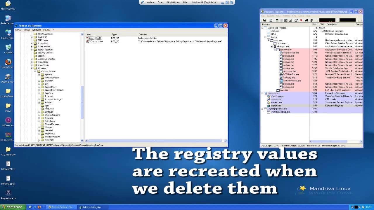 Remove CryptoLocker with RogueKiller - YouTube