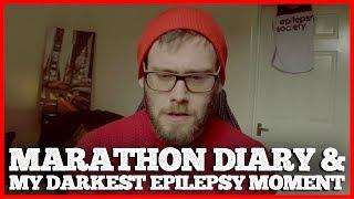 60 Days To Run A Marathon- Diary 2 & My Darkest Epilepsy Moment | #CODEFIERCE