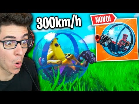 NOVA BOLA DE HAMSTER! O veículo mais INSANO do FORTNITE!