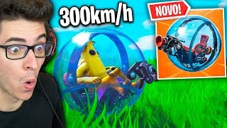 NOVA BOLA DE HAMSTER! O veículo mais INSANO do FORTNITE! thumbnail