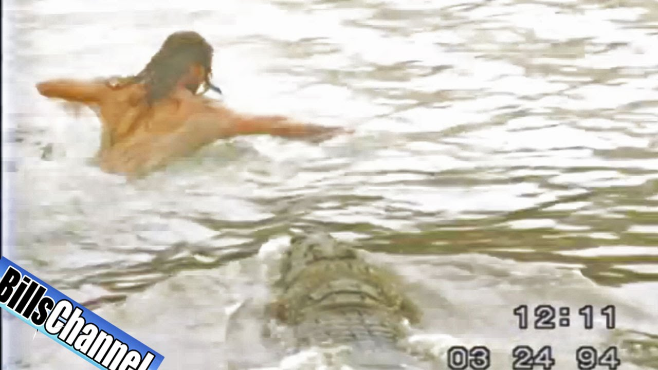CROCODILE Attack Video - Real or Fake? - YouTube