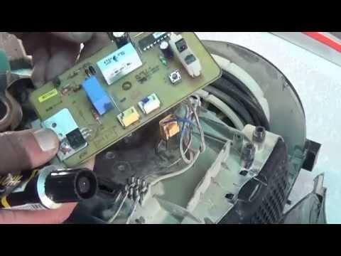 Разборка и ремонт пылесоса Samsung VCDC20CH