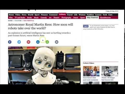 More Scientists Fear Rise of Robots and Artificial Intelligence Exterminating Human Race
