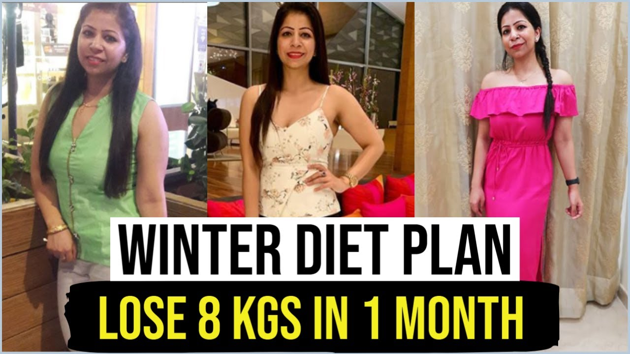 Diet Plan to Lose Weight Fast in Winters | Full Day Diet Plan for Weight Loss | Fat to Fab Suman