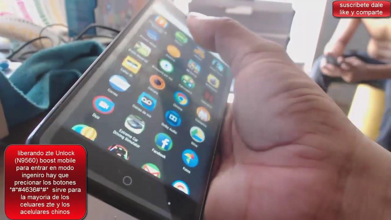 liberando zte ZTE Max XL N9560 Unlock boost movil