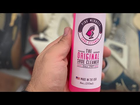 WHO CAN CLEAN SHOES FASTER? | PINK MIRACLE SNEAKER CLEANER