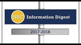 NRC Information Digest 2017-2018