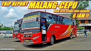 TRIP REPORT - MONTOR SUMUK !!! SENSASI JAYA UTAMA INDO MAX BY TENTREM MALANG-CEPU TANPA AC