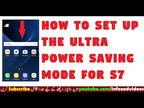 How To Set Up The Ultra Power Saving Mode For S7 Edge On Nougat OS