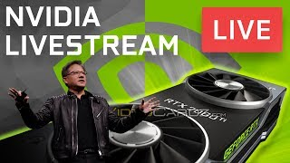 Nvidia New GPU Announcement LIVE!