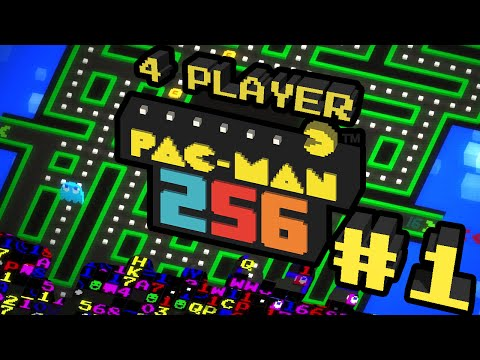 Pac-Man 256 - #1 - Wakka Wakka (4 Player Gameplay)
