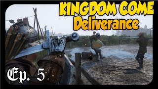 Kingdom Come Deliverance ➤ MURDER AT THE CAMP! [Let's Play Kingdom Come Deliverance Gameplay][Pt 5]