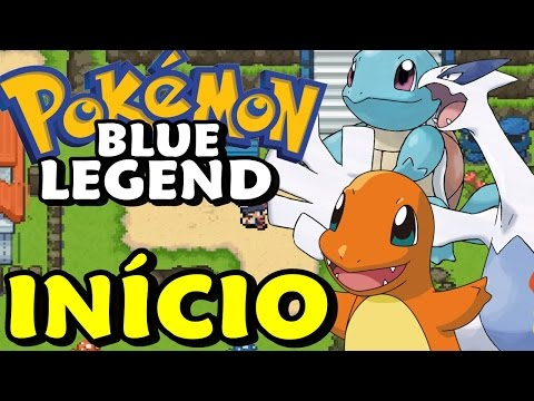 Pokémon Blue Legend (Hack Rom) - O Início