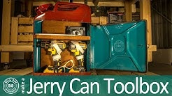 How to make a Jerry Can Toolbox