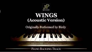 Video Wings (Acoustic Version) by Birdy - Piano Accompaniment download MP3, 3GP, MP4, WEBM, AVI, FLV Juni 2018