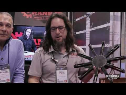 Crank It Drum Tuner - NAMM 2013 - New Product Demo!