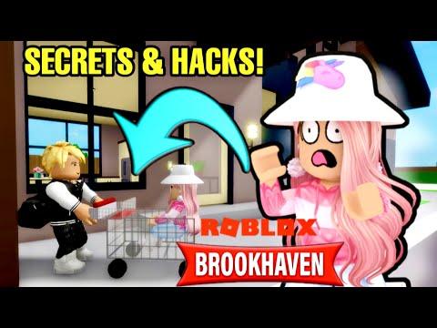 SECRETS ET HACKS DANS BROOKHAVEN! ROBLOX BROOKHAVEN RP