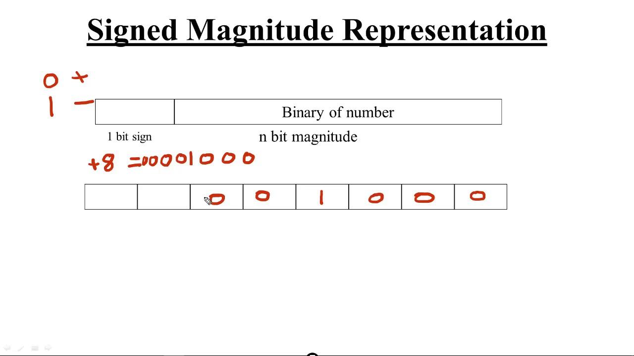Signed Magnitude Representation (Hindi)