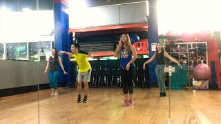 Ella Me Beso | Elvis Crespo | Salsa Tropical | Zumba® Fitness | by ZTandems