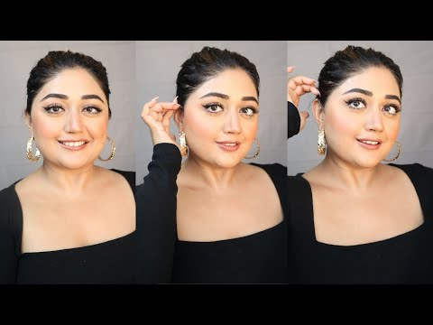 CLASSIC NUDE MAKEUP | Glam for Indian/Brown Skin | corallista