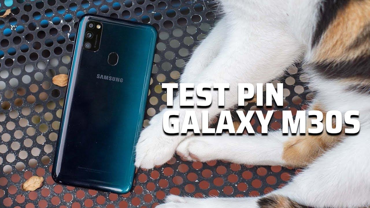 Test pin Galaxy M30s: 6000 mAh dùng được bao lâu?