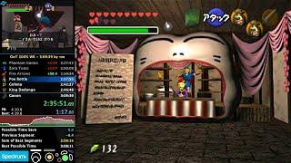 Ocarina of Time 100% Speedrun in 3:09:19